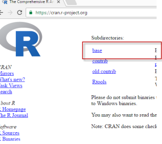 r-base-directory